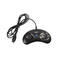 Under Control Sega Megadrive Controller Black