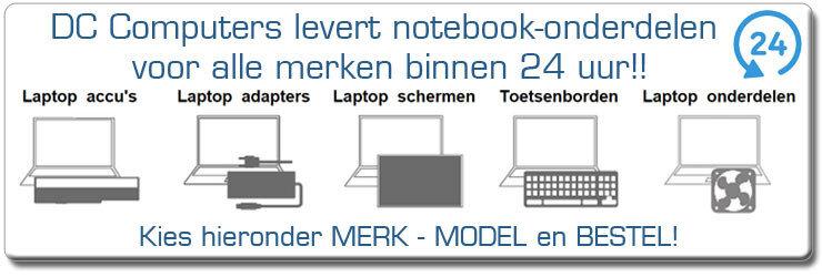 Notebook-Onderdelen
