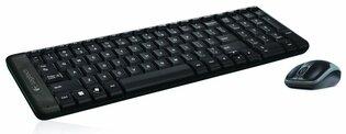 Logitech MK220 RF Draadloos QWERTY Internationaal EER Zwart toetsenbord