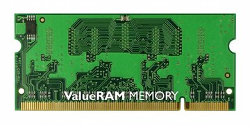 Kingston Technology ValueRAM 1GB 800MHz DDR2 Non-ECC CL6 SODIMM 1GB DDR2 800MHz geheugenmodule