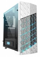 Case Azza Onyx Game MidiTower / Glas / EVA light /USB3 / Wit