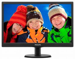Philips LCD-monitor met SmartControl Lite 193V5LSB2/10 LED display