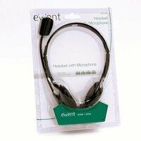 Ewent EW3563 Stereofonisch Hoofdband Zwart hoofdtelefoon