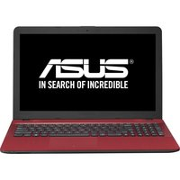 Asus X541NA RED 15.6  N3350 / 240GB   / 4GB DDR4  / W10