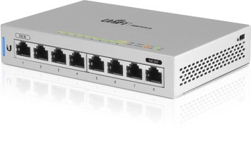 Ubiquiti Networks UniFi 5 x Switch 8 Beheerde netwerkswitch Gigabit Ethernet (10/100/1000) Power over Ethernet (PoE) Grijs