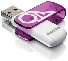 Philips Usb 3.0 64Gb Vivid Edition Purple