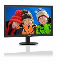 Mon Philips 21.5Inch 223V5LHSB LED / VGA / HDMI / / F-HD/ ArtDesign