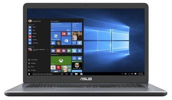 ASUS R702NA-BX085T Grijs Notebook 43,9 cm (17.3